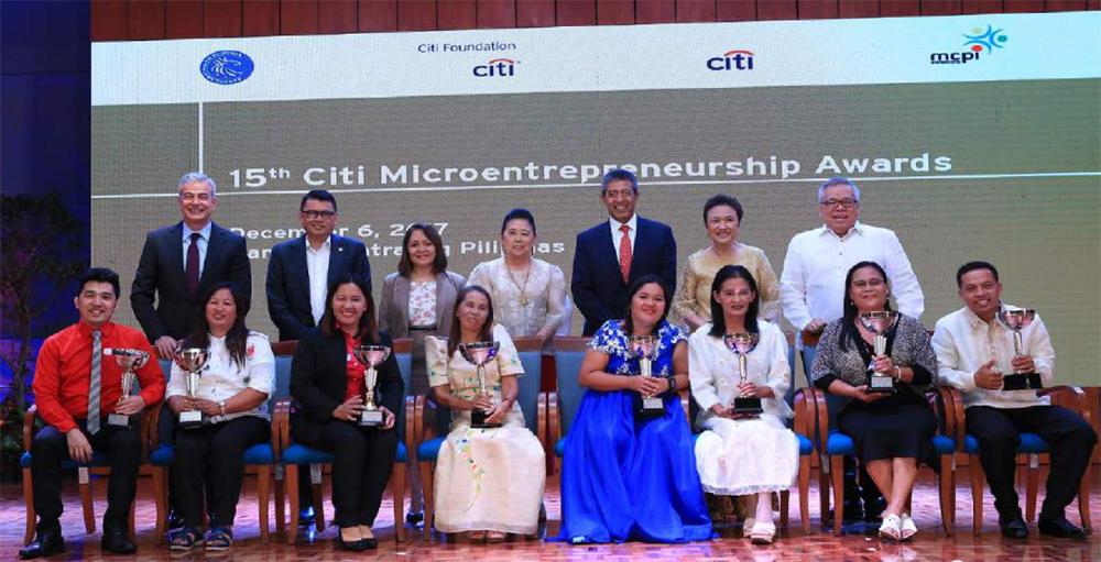 15th Citi Microentrepreneurship Awardees