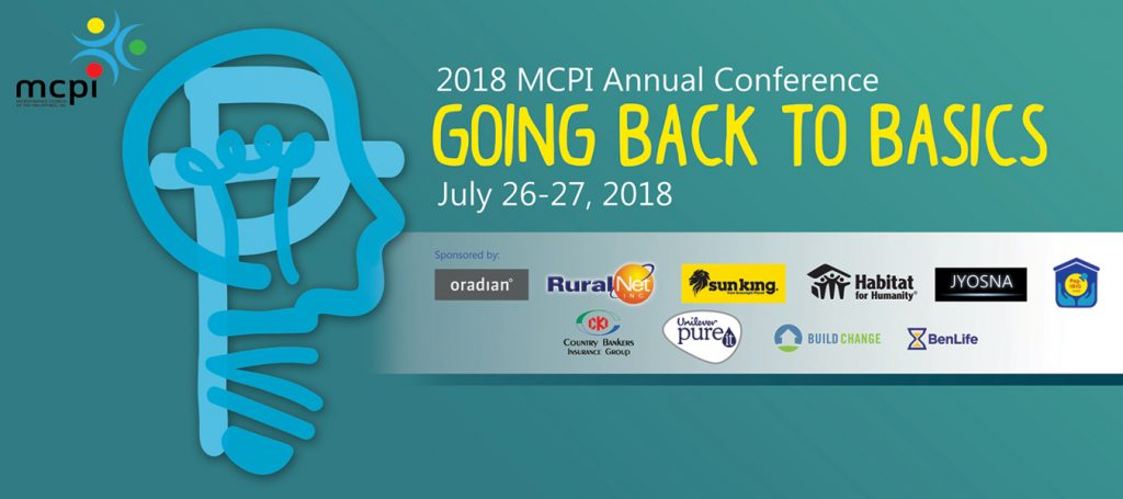 MCPI 2018 Annual Conference - Going Back to Basics