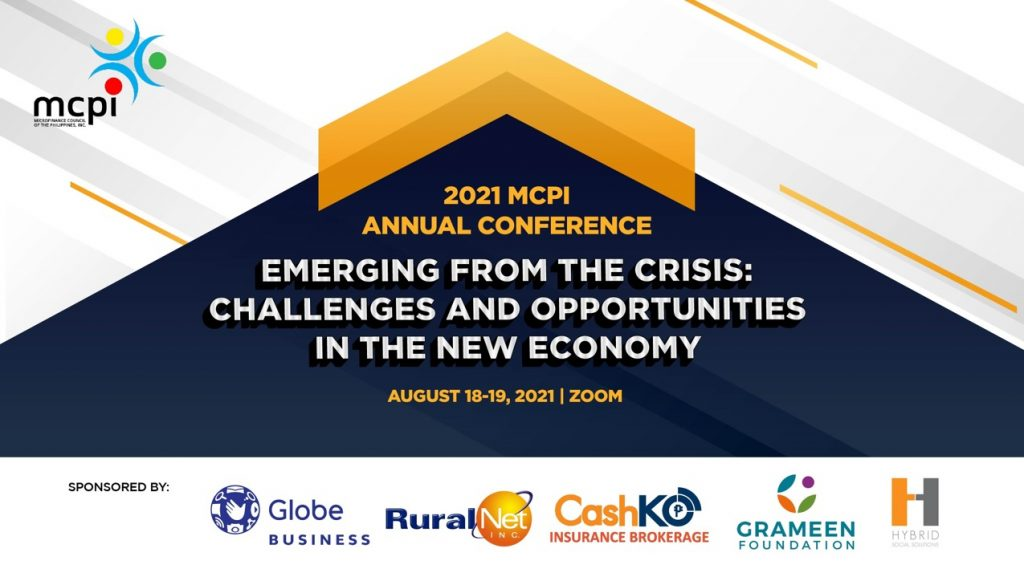 2021 MCPI Annual Conference - Emerging from the Crisis: Challenges and Opportunities in the New Economy